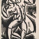 Bouquet, la danse, 28x19, 1920