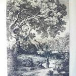 33 Femme et son enfant sur le chemin, cuivre 163 x 241.