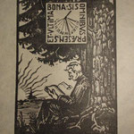 Durand, ex-libris, A. Bonnassieux
