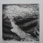 R. Bord, Le fleuve, 13,7 x13,7.