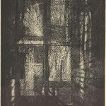 R.Bord, La fenêtre, 1984,  44 x 35, (BML F20BOR004475).