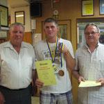 Michael Dvorak und Petr Alexander wurden 3. im Paarbewerb
