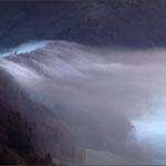 Blick vom Vogelberg – Nebelfluss