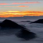 Blick vom Vogelberg – vor Sonnenaufgang