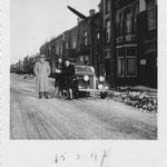 Harry Dreesen, NN, Caroline Grouwet 15.03.1947