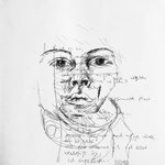 O.T., 2010, Bleistift auf Papier, 28 x 29 cm