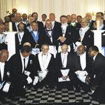 """Teil der Teilnehmergruppe, darunter Brüder aus """"niderl. Antillen"""""""