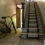 Hall with bicycle
