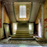 Hall with stairs
