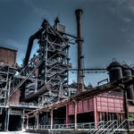The empty steelworks