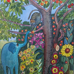 Adam und Eva 2018 Aquarell 18- x 24 cm