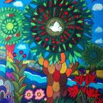 8 2021 Colority VIII  Ölkreide 40 x 50 cm