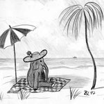 Elefant im Urlaub