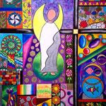 7 2020-Colority VII  Ölkreide 40 x 50 cm