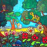 2 Colority-II-2016 Aquarellkreide 30 x 40 cm