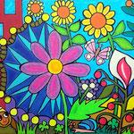 1 Colority-I-2016 Ölkreide 30 x 40 cm