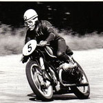 Peter Knees auf BMW 500cc