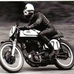 Anderson, Schweden auf Norton 350cc