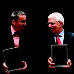 Verleihung des Dialogpreises 2009 an Ludwig Mehlhorn und Wolfgang Templin