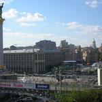 Majdan, Platz der Unabhängigkeit, Kiew 2006