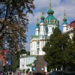 Andreaskirche in Kiew, 2006