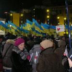 Abschlusswahlveranstaltung Julia Tymoschenko, vor der Stichwahl am 07.02.2010