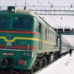 Zug von Kiew nach Lemberg, März 2006