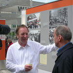 Tom Sello und Wolfgang Templin