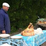 Straßenverkauf in der Nähe von Kiew, 2006