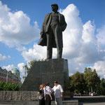 Lenindenkmal in Donezk, 2006