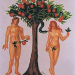 Adam und Eva, ca. 3 x 3 m
