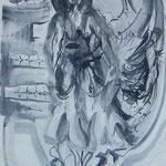 Eros2, tinte auf papier, 21 x 29,7 cm