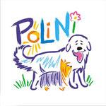 Логотип для питомника австралийских терьеров и пиренейских горных собак PoLiNi.