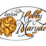 Логотип для питомника померанских шпицев из Латвии Hobby Maryden.