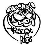 """Логотип для питомника английских бульдогов """"Мэскот Погс""""."""