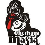 Логотип для питомника Чёрная мафия. Вариация на тему)).