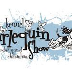 """Логотип для питомника американских коккеров и чихуа-хуа """"Арлекин шоу""""."""