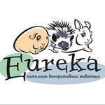 """Логотип для клуба любителей декоративных животных """"Эврика""""."""
