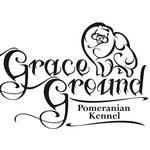 """Логотип для питомника померанских шпицев """"Grace Ground""""."""