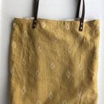 Grosse Tasche senfgelb