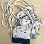Kleine Taschen mit Seilkordel