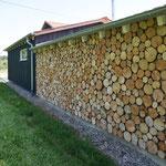 Holzstapel-Optik