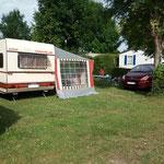 Exemple d'emplacement Caravane Tente ou Camping-car entièrement viabilisé
