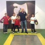 Nuestro Mestro con nuestro amigos del Club Bahía de Cádiz