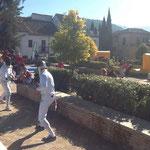 Exhibición en el Albayzin de Granada 2014