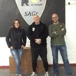 Visita de nuestros amigos Juan Garijo y Vanesa Lis