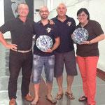 Entrega de premios a los ganadores del Ranking interno, en el I Aniversario de la SAGr