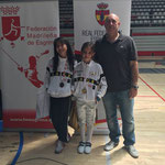 Campeona de España y Finalista m12 femenino Campeona de España y Finalista m12 femenino Criterium Nacional de Leganes 2014/2015