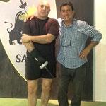 El Maestro Cañadillas junto a nuestro gran amigo Omar