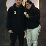 Isabel medalla de plata en el I Torneo AEVE celebrado en Madrid el 21/12/2015